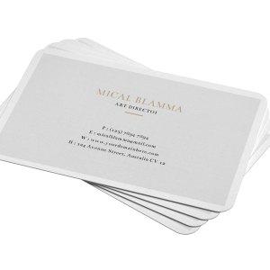 Simple Visit Card Template