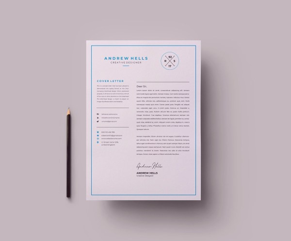 EPS Clean Resume Template