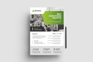 Elegant PSD Business Flyer Poster