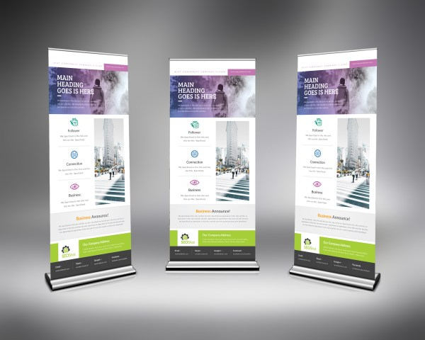 PSD Roll-Up Design Template