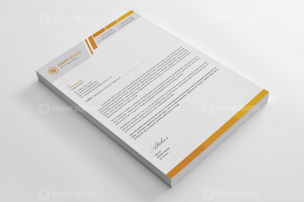Executive Letterhead Design