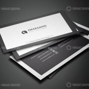 PSD Clean Business Card