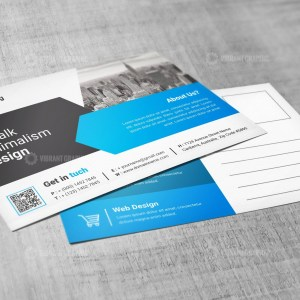 PSD Postcard Design Templates