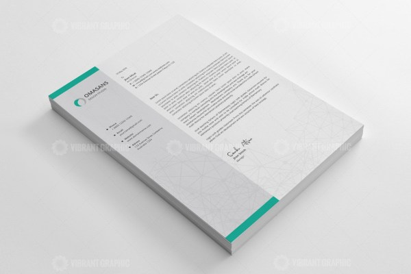 Transport Letterhead Design