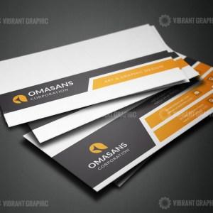 PSD Sleek Business Card Design