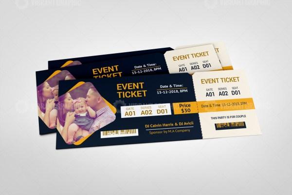 Classic Event Ticket