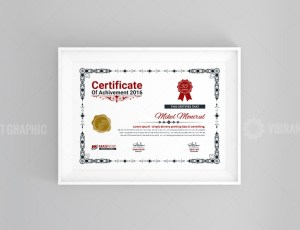 Plain Certificate Design