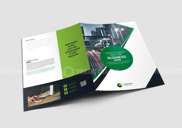 Clean Presentation Folder