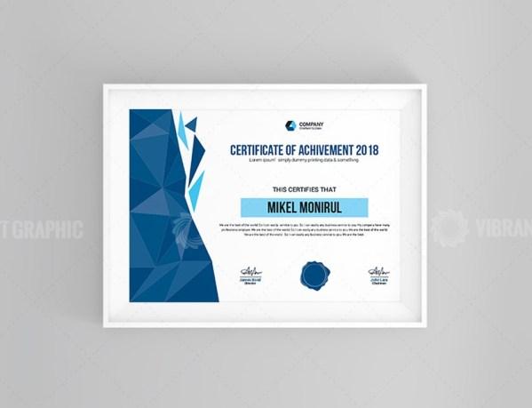 Plain Certificate
