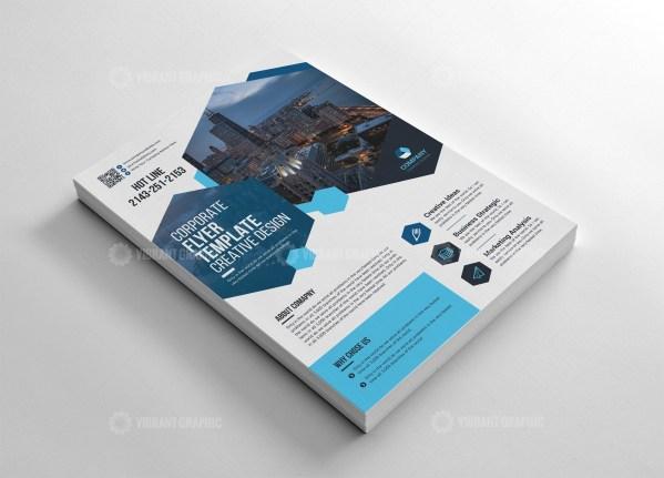 Creative Flyer Template Design