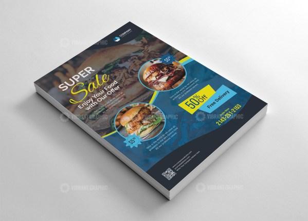 Food Flyer Design