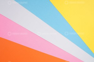 Geometric background with colorful paper