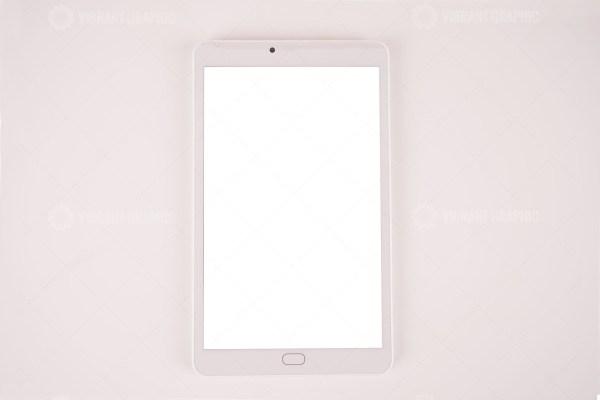 White tablet stock photo