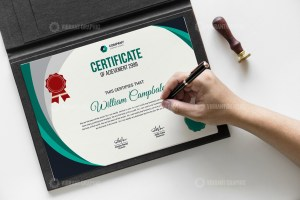 Authorship Certificate Template