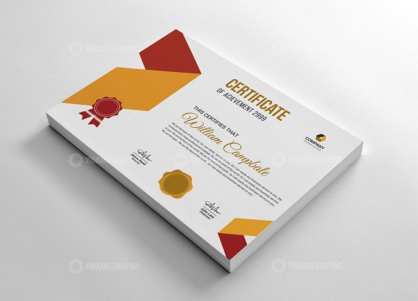 Printable Certificate Template
