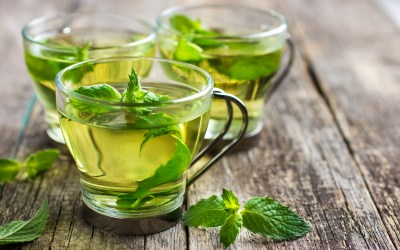 Cooling Mint Tea
