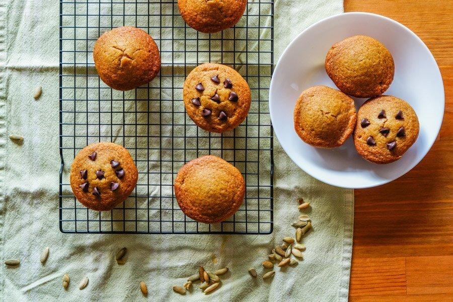 gluten free pumpkin muffins 1