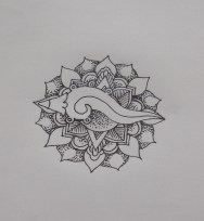 Snail Aztec Tattoo Design by Gerardo Garduño