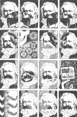 Marx for Less Pencil / Paper 9.6 x 14.2 in 2011