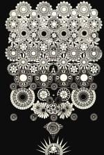 """""""Point on white Light"""" Giclee print on Velvet rag paper. - Edition of 20. - Image size: 20"""" x 16"""" - 2014"""