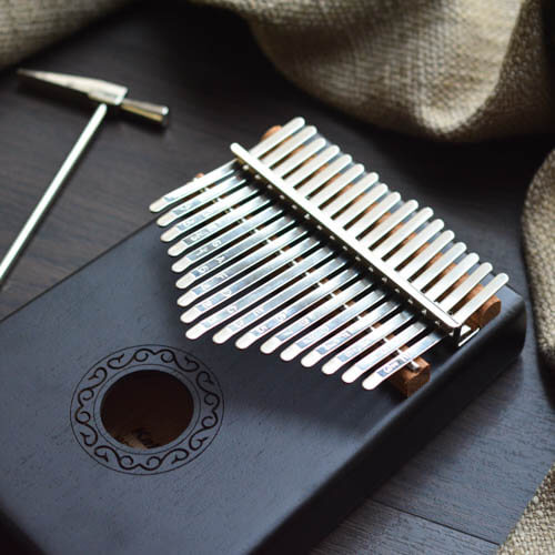 Kalimba 17 Mahogany Classical Black 05