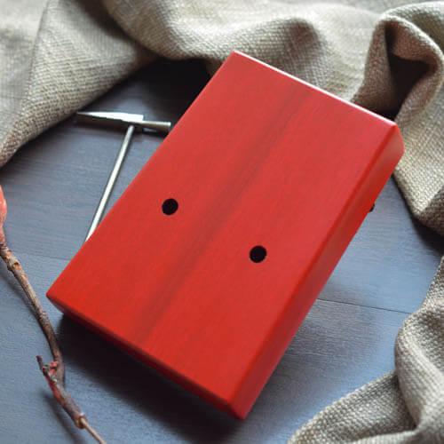 Kalimba 17 Mahogany Classical Red 05