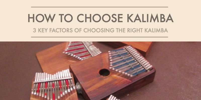 how to choose kalimba poster