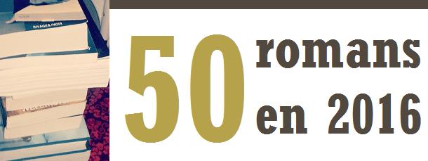 50 romans en 2016