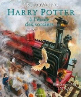 harry potter à l'école des sorciers illustré