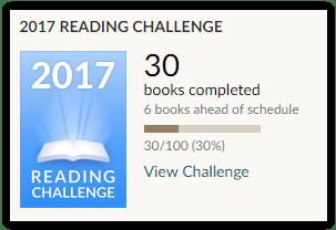 reading challenge mars 2017
