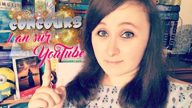 concours un an sur youtube
