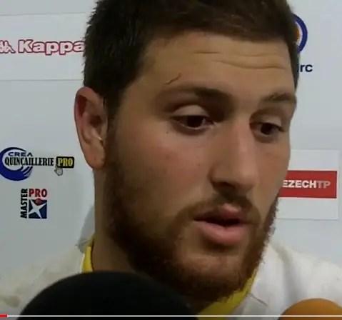 """Fédérale1-Albi, Lucas VACCARO : """"J'espère qu'on va retrouver le sourire"""" (J17)"""