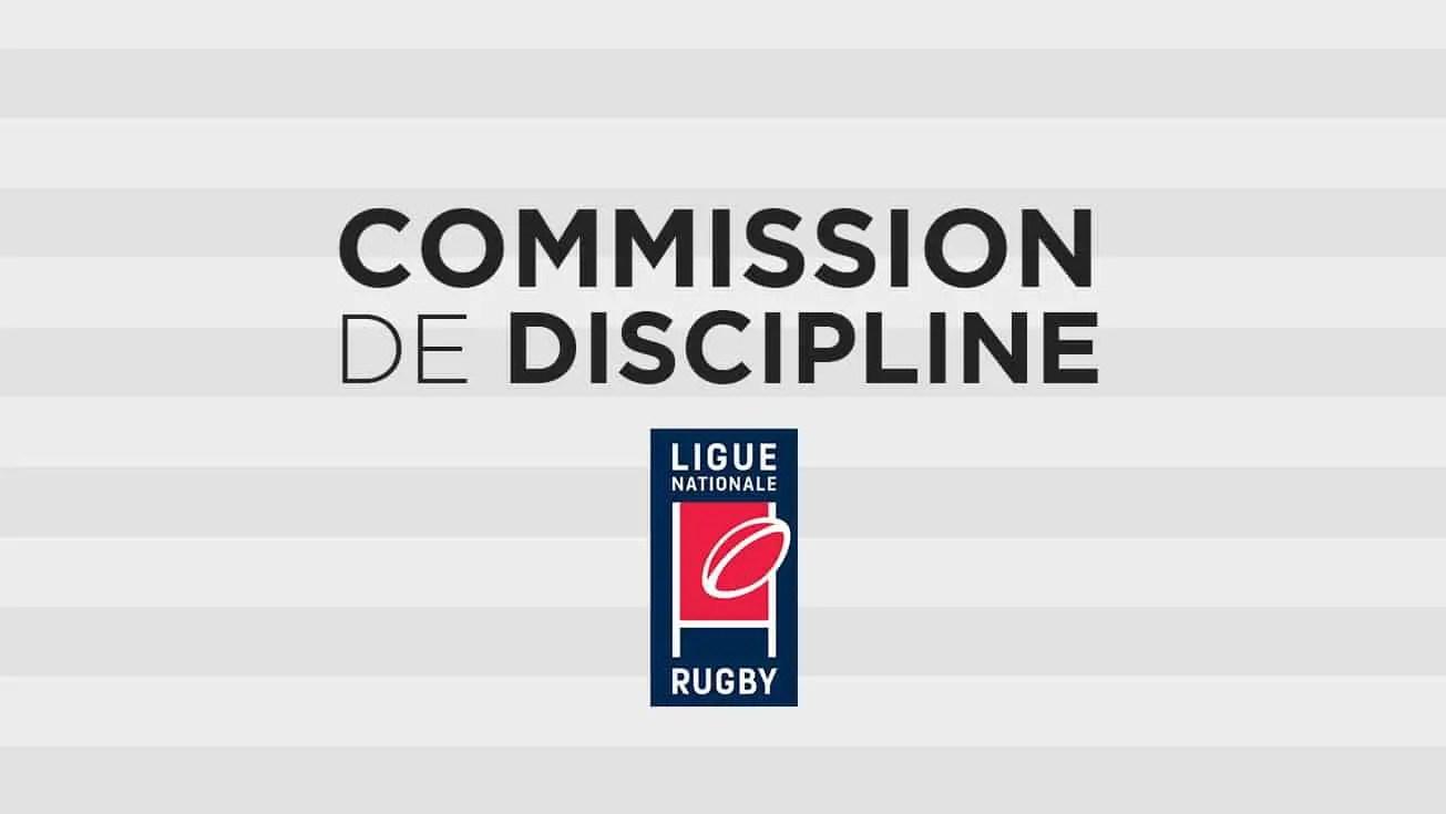 Pro D2 : DEUX JOUEURS DEVANT LA COMMISSION DE DISCIPLINE