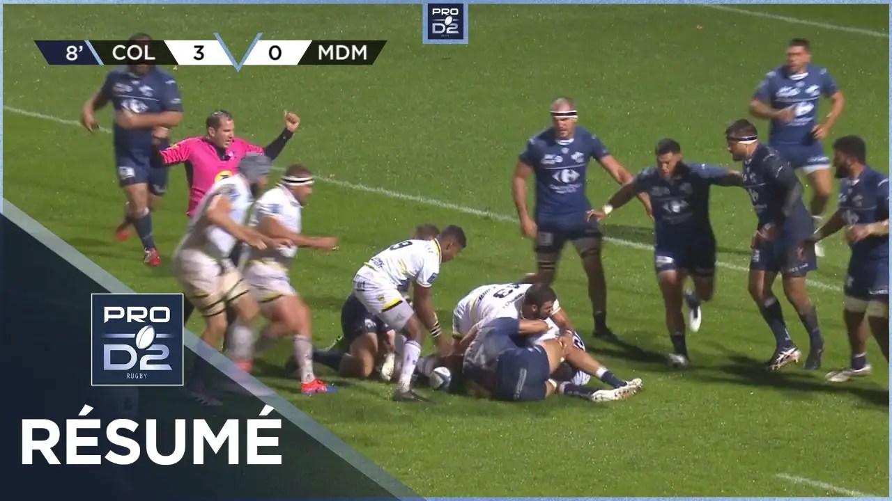 Rugby Pro D2 ( 🎥 LNR )  : PRO D2 – Résumé Colomiers Rugby-Stade Montois: 22-17 – J4 – Saison 2020/2021