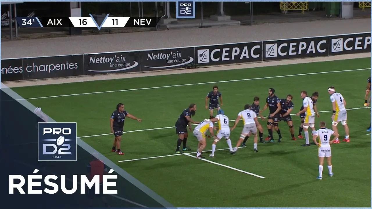 Rugby Pro D2 🎥  : PRO D2 – Résumé Provence Rugby-USON Nevers: 25-22 – J3 – Saison 2020/2021