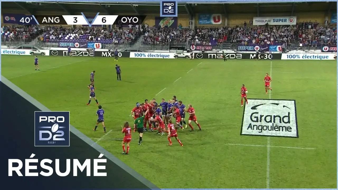 Rugby Pro D2  : PRO D2 – Résumé SA XV Charente-Oyonnax Rugby: 8-16 – J3 – Saison 2020/2021