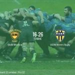 Rugby Pro D2 : Nevers signe sa première victoire à l'extérieur (16-26)