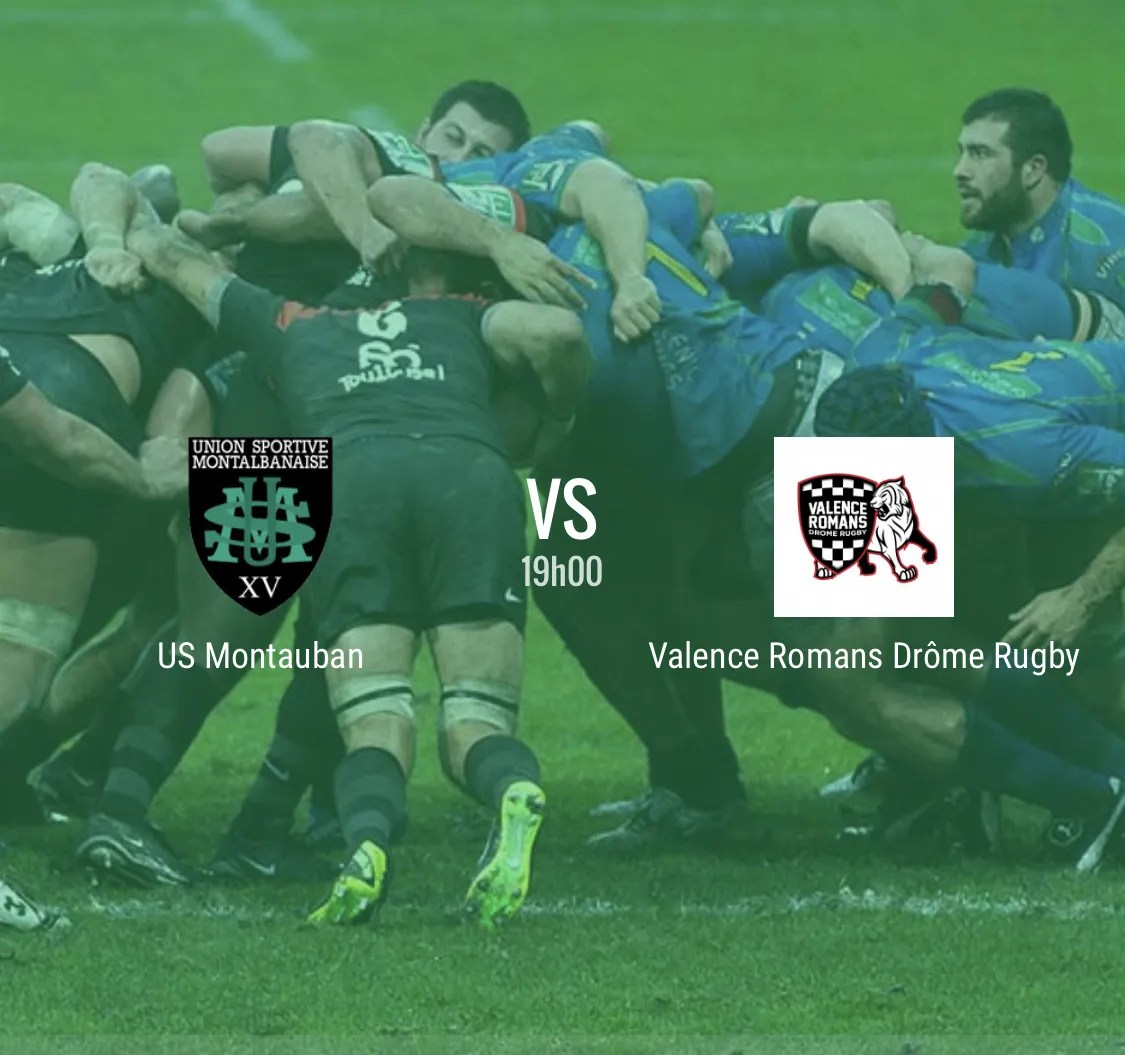 Pro D2 – Montauban – Valence Romans en direct