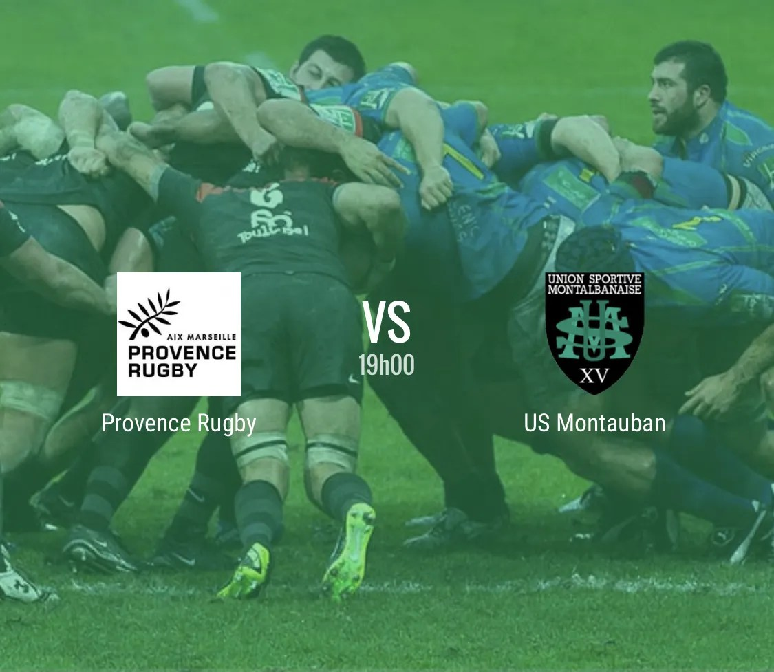 Rugby Pro D2 : Provence Rugby – Montauban en direct