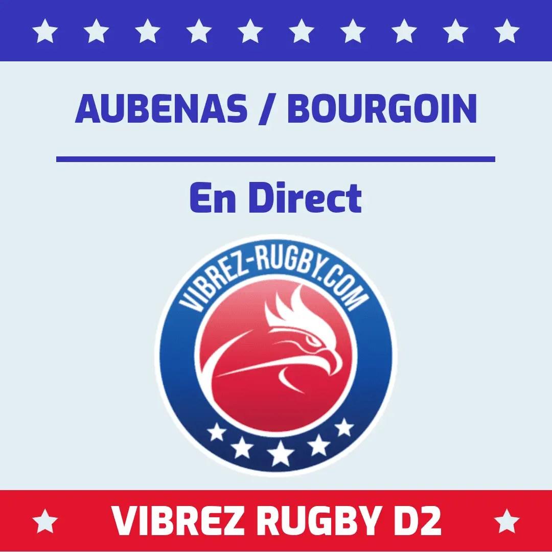 Aubenas Bourgoin en direct