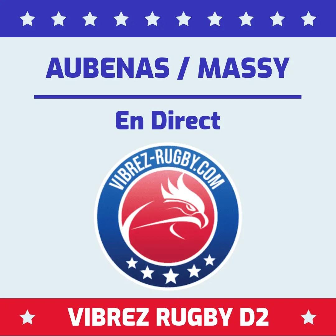 Aubenas Massy en direct