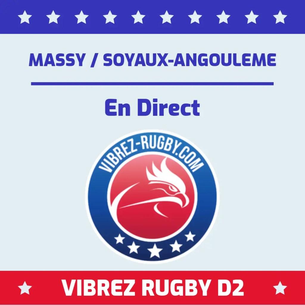 Massy Soyaux Angoulème en direct