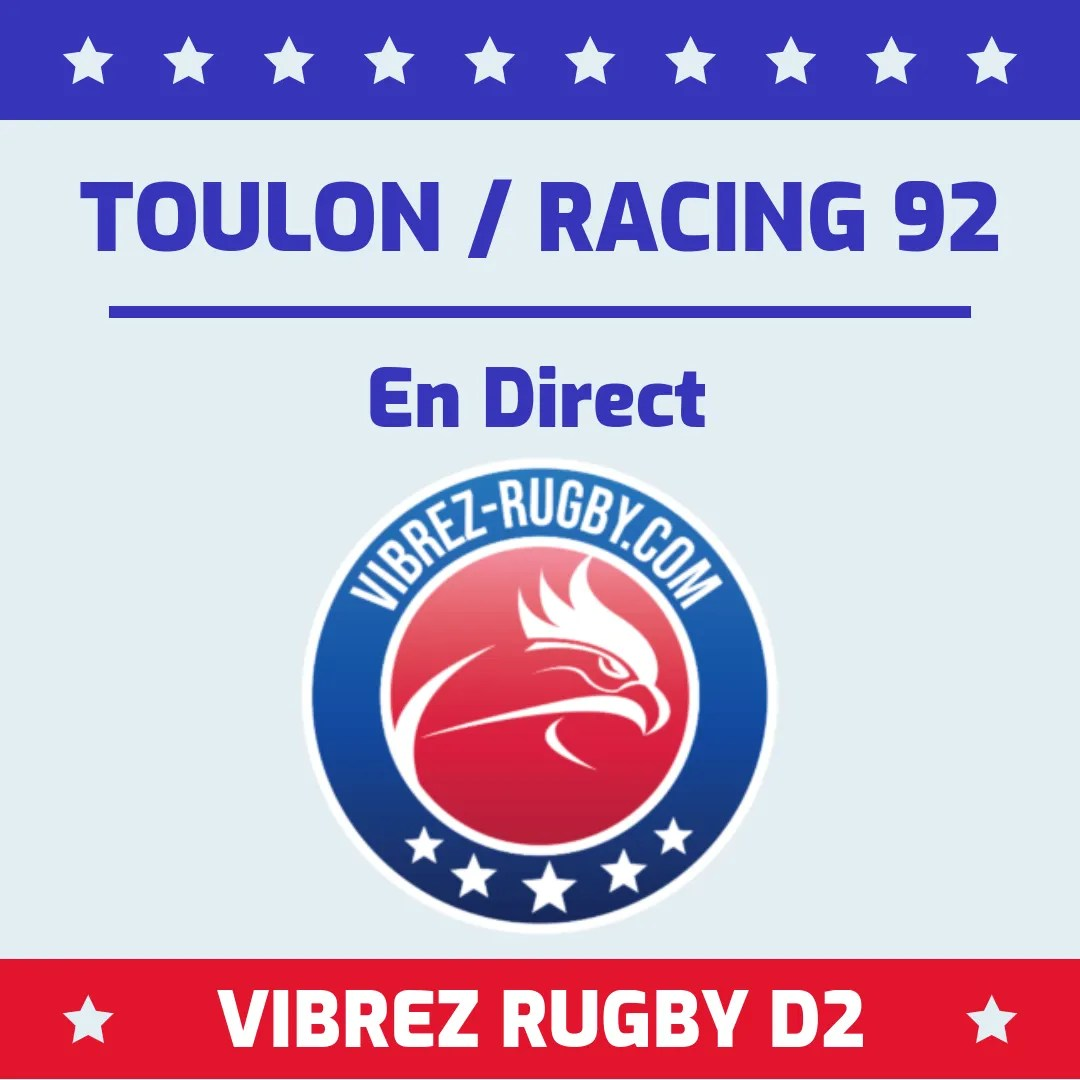 Toulon Racing 92 en direct