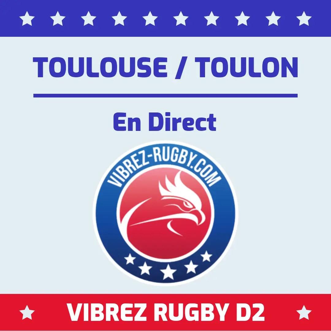 Toulouse Toulon en direct