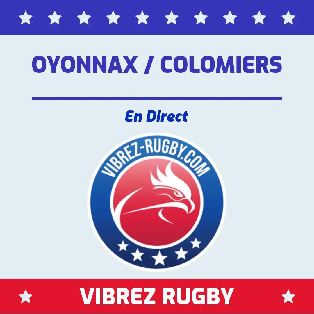 Oyonnax Colomiers en direct