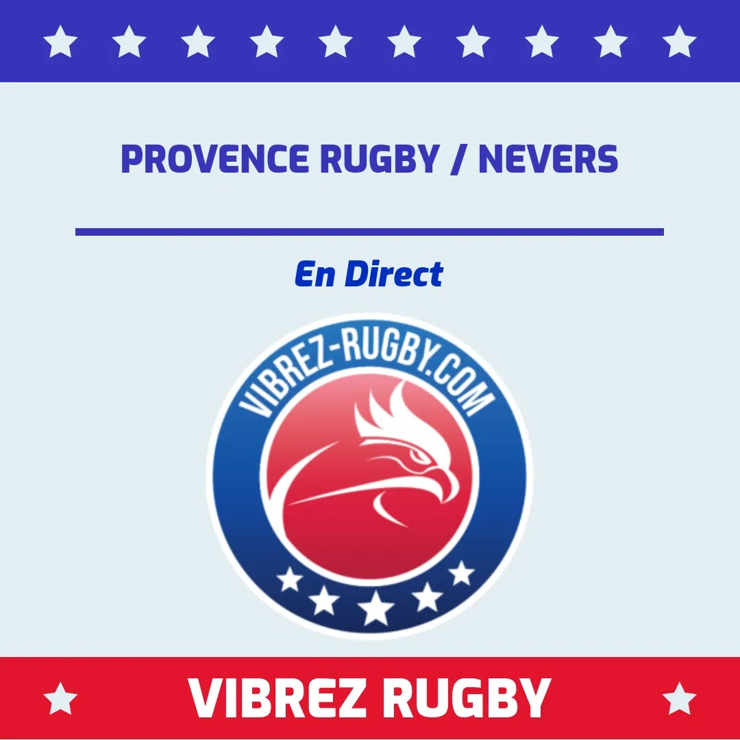 Provence Rugby Nevers en direct