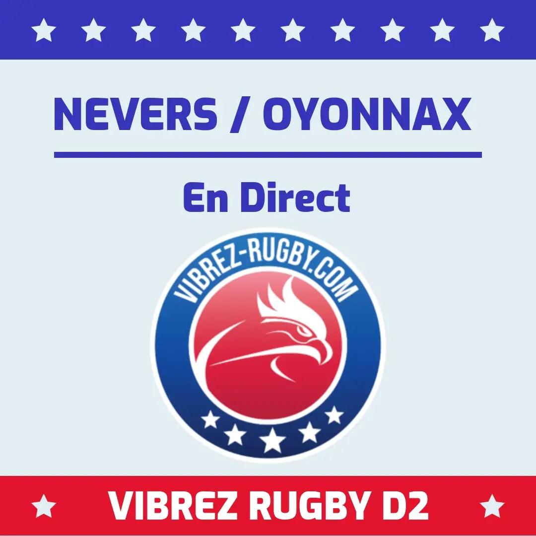 Nevers Oyonnax en direct