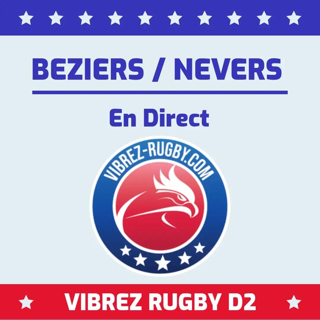 Béziers Nevers en direct