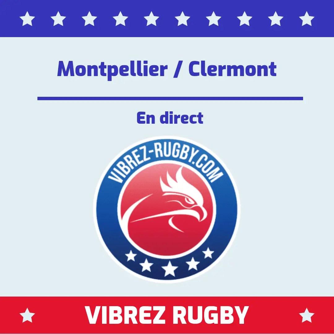 Montpellier Clermont en direct