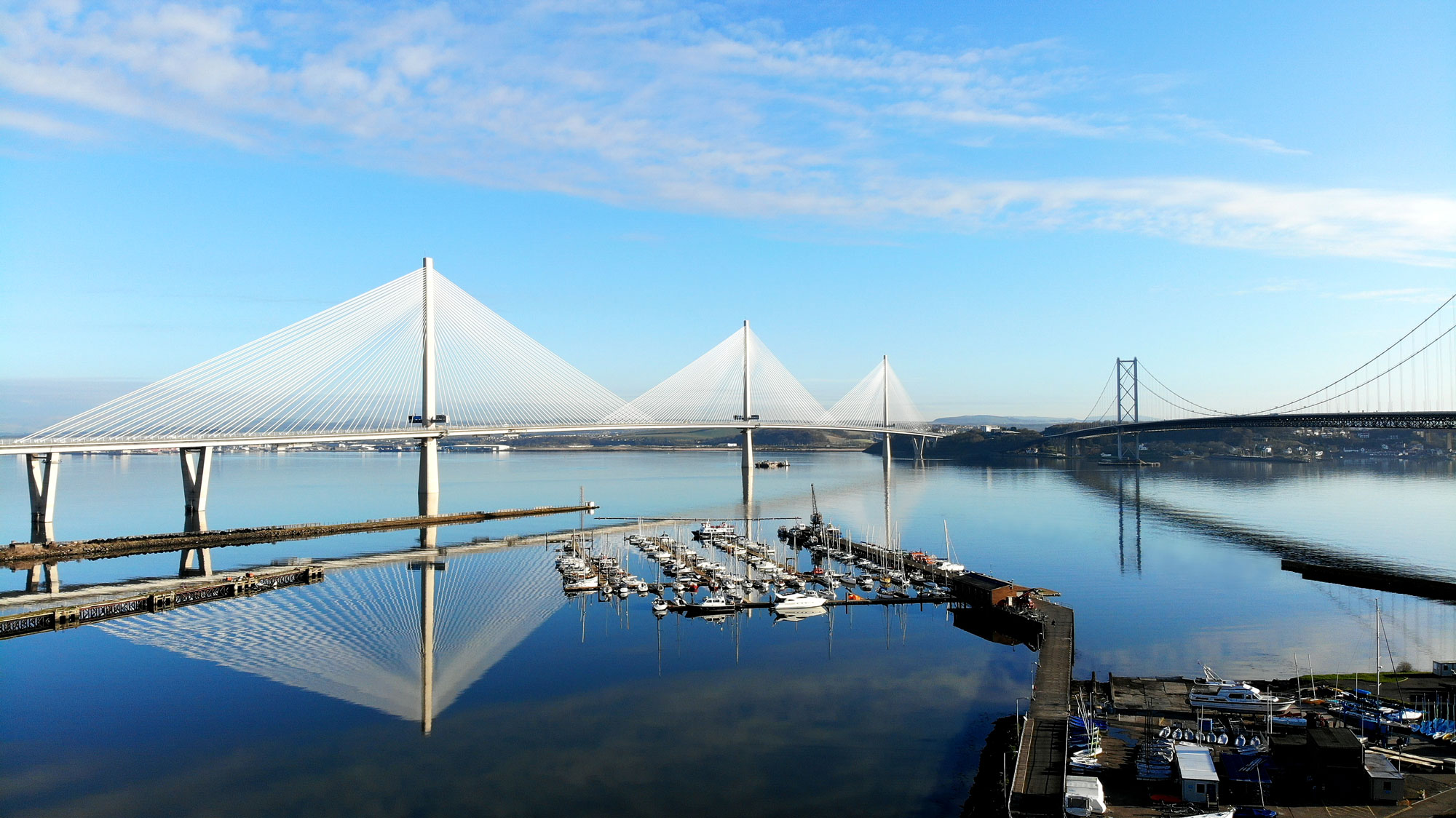 Queensferry Crossing Edinburgh  Vibro Menard